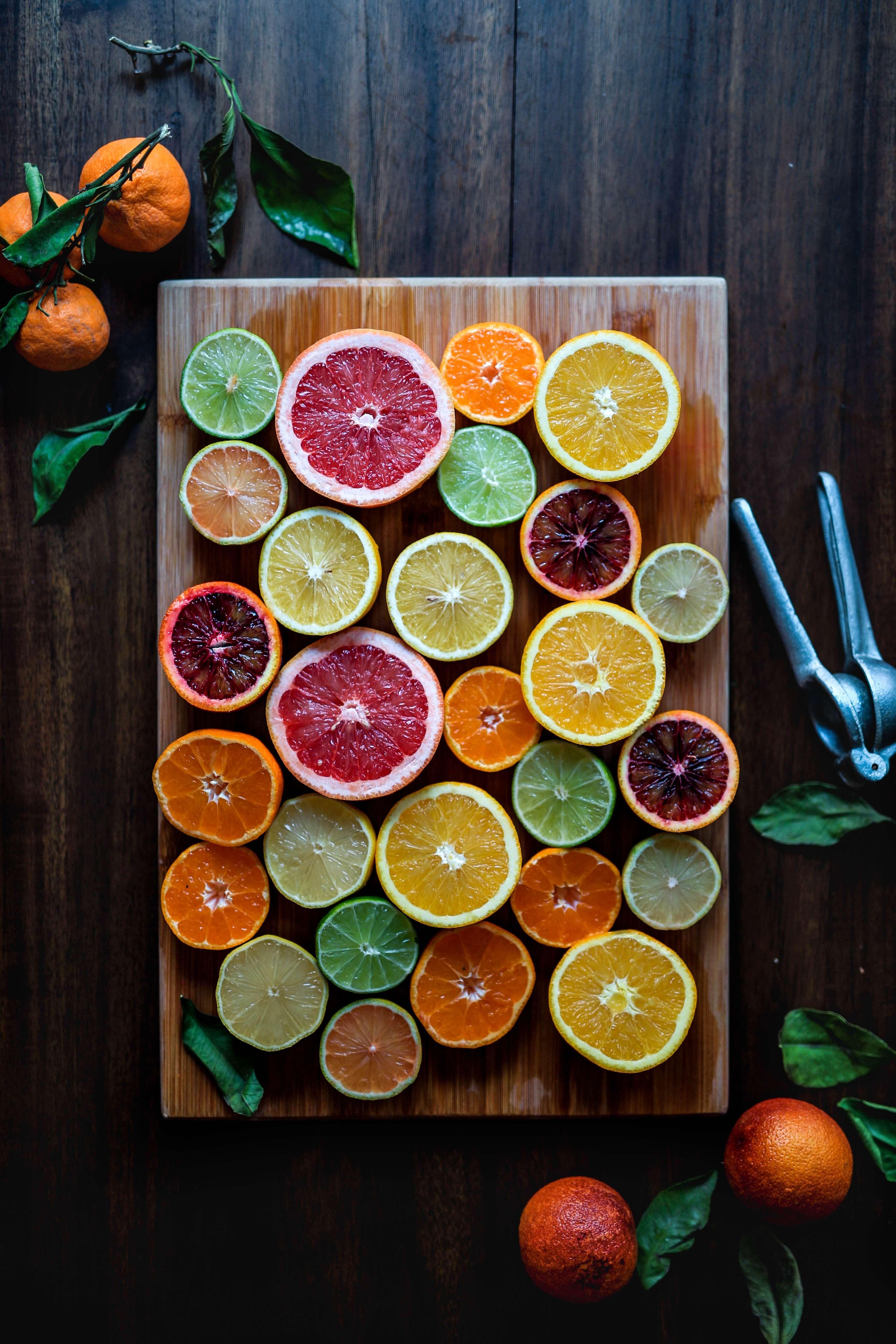 Von Apfel bis Zitrone